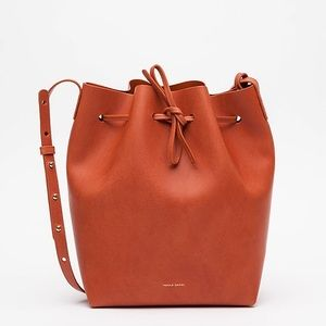 Mansur Gavriel Bucket Bag Brandy/Brick Large